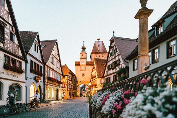 village in Europe