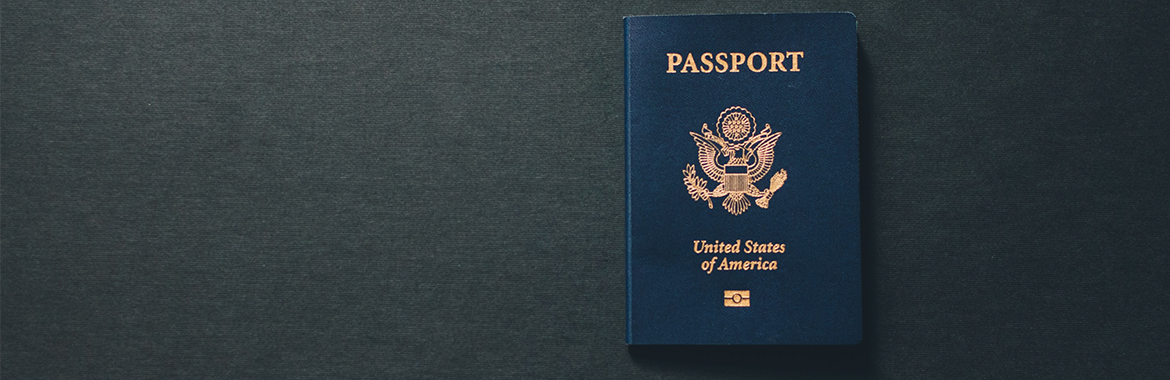 U.S. passport waiting for your application