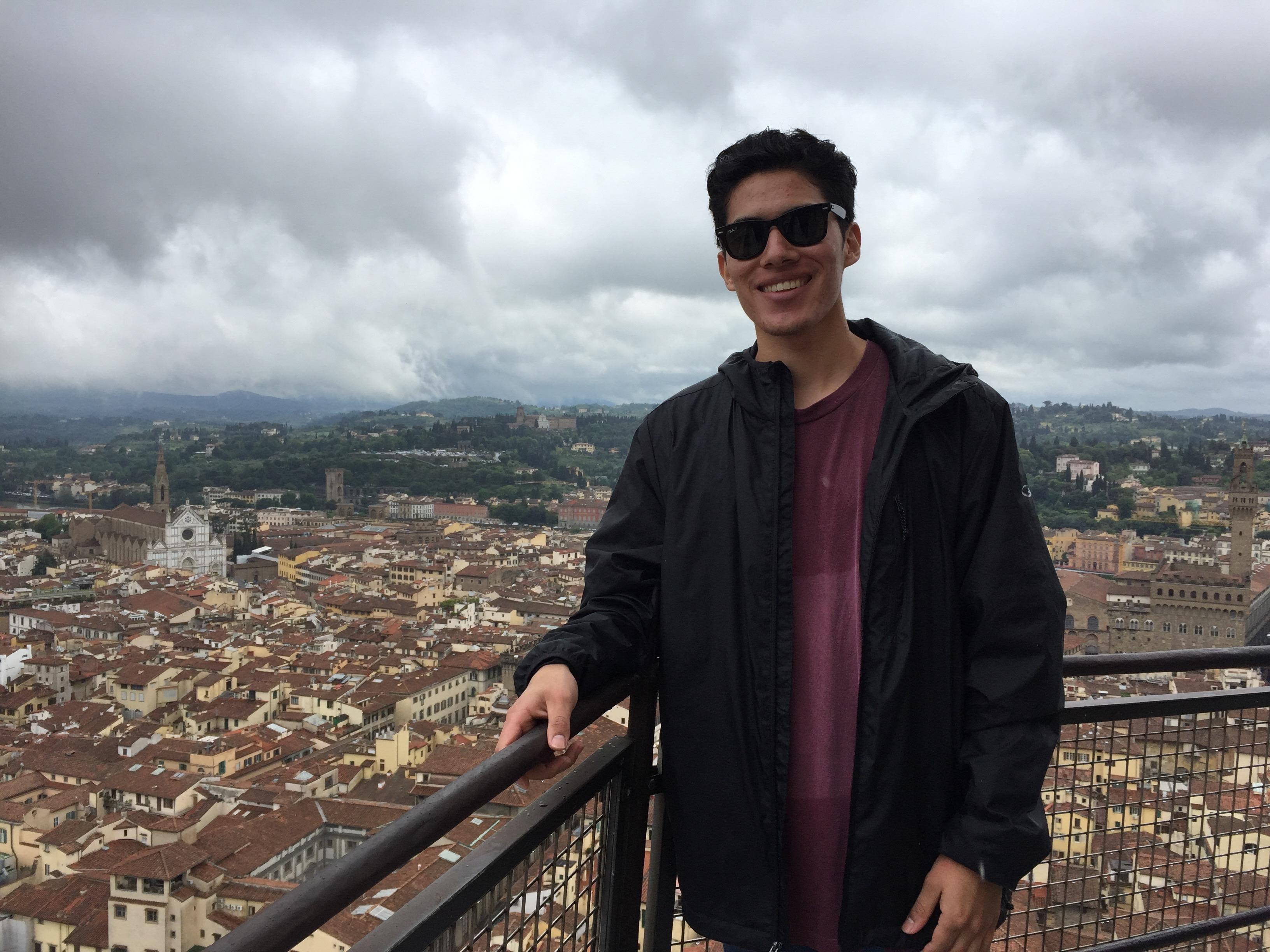 Photo of Study Abroad Peer Advisor, Diego Yanez