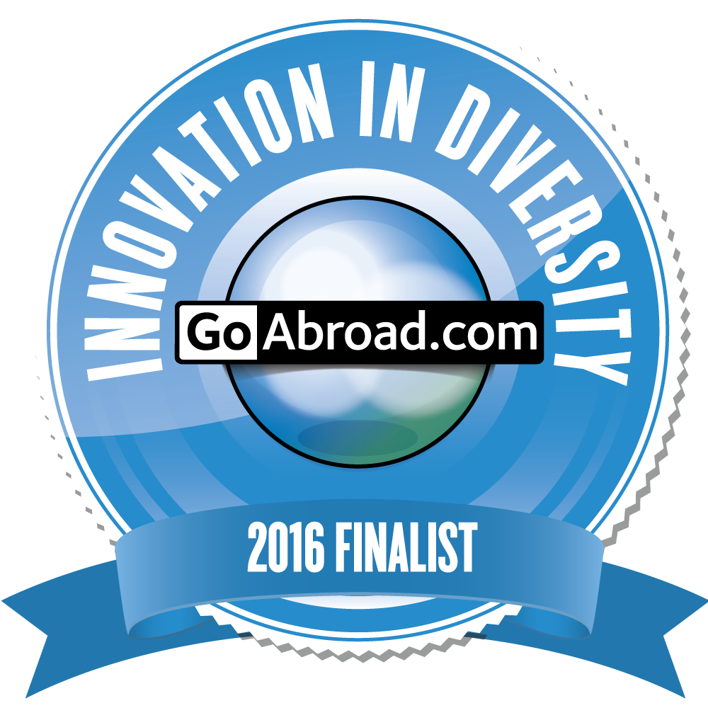 Finalist Badge for Innovation in Diversity Category for the Innovation Awards